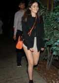 Isabelle Fuhrman leaves after a night out at Delilah in West Hollywood, Los Angeles