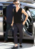 Jennifer Garner arrives for the church service in Los Angeles