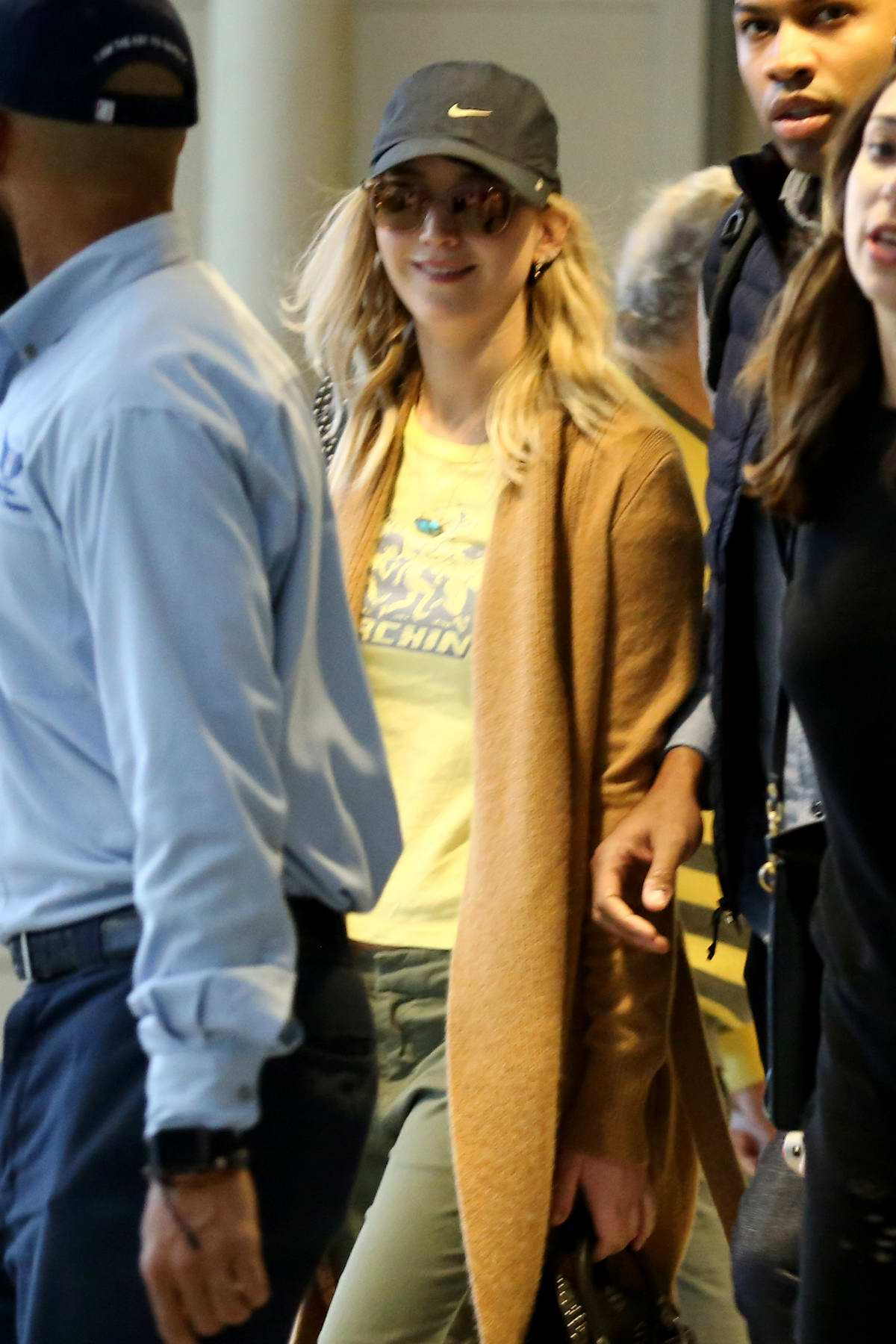 Jennifer Lawrence arrives in New Orleans to host 'Unrigged Live' at Tulane University