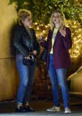 Jennifer Lawrence enjoys a night out on the town with a friend in Los Angeles