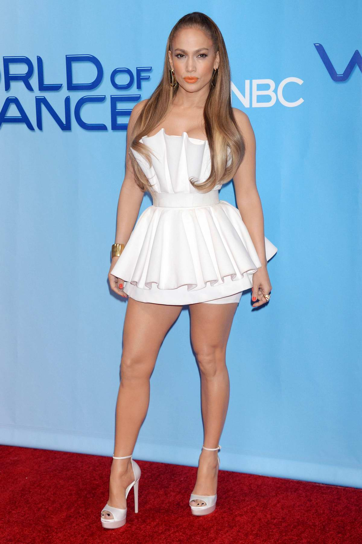 Jennifer Lopez at 'World of Dance' TV show premiere in Los Angeles