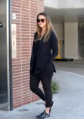 Jessica Alba steps out for lunch with her baby boy in Century City, Los Angeles