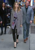 Jessica Biel arrives at 'Good Morning America' in New York City