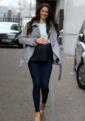 Jessica Cunningham spotted outside ITV Studios in London