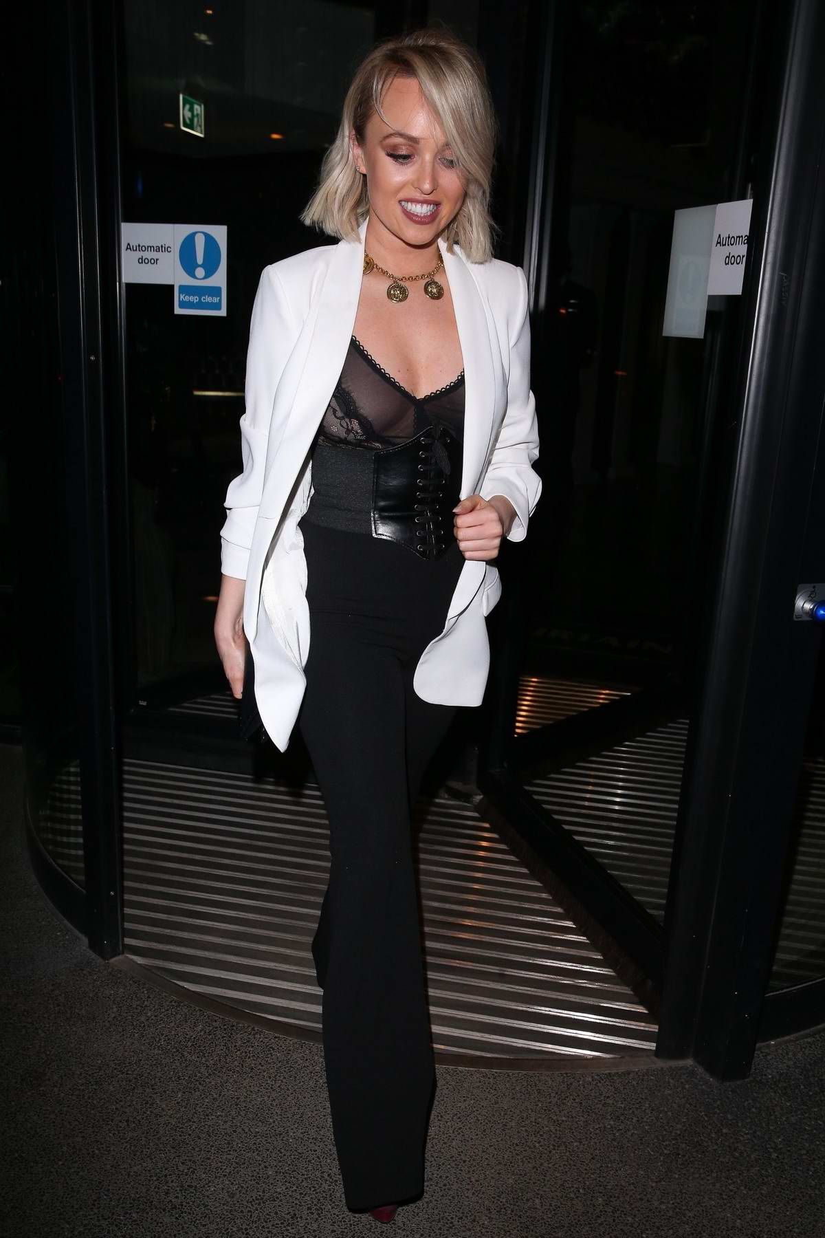Jorgie Porter at Fabulous Magazine 10th birthday party in London