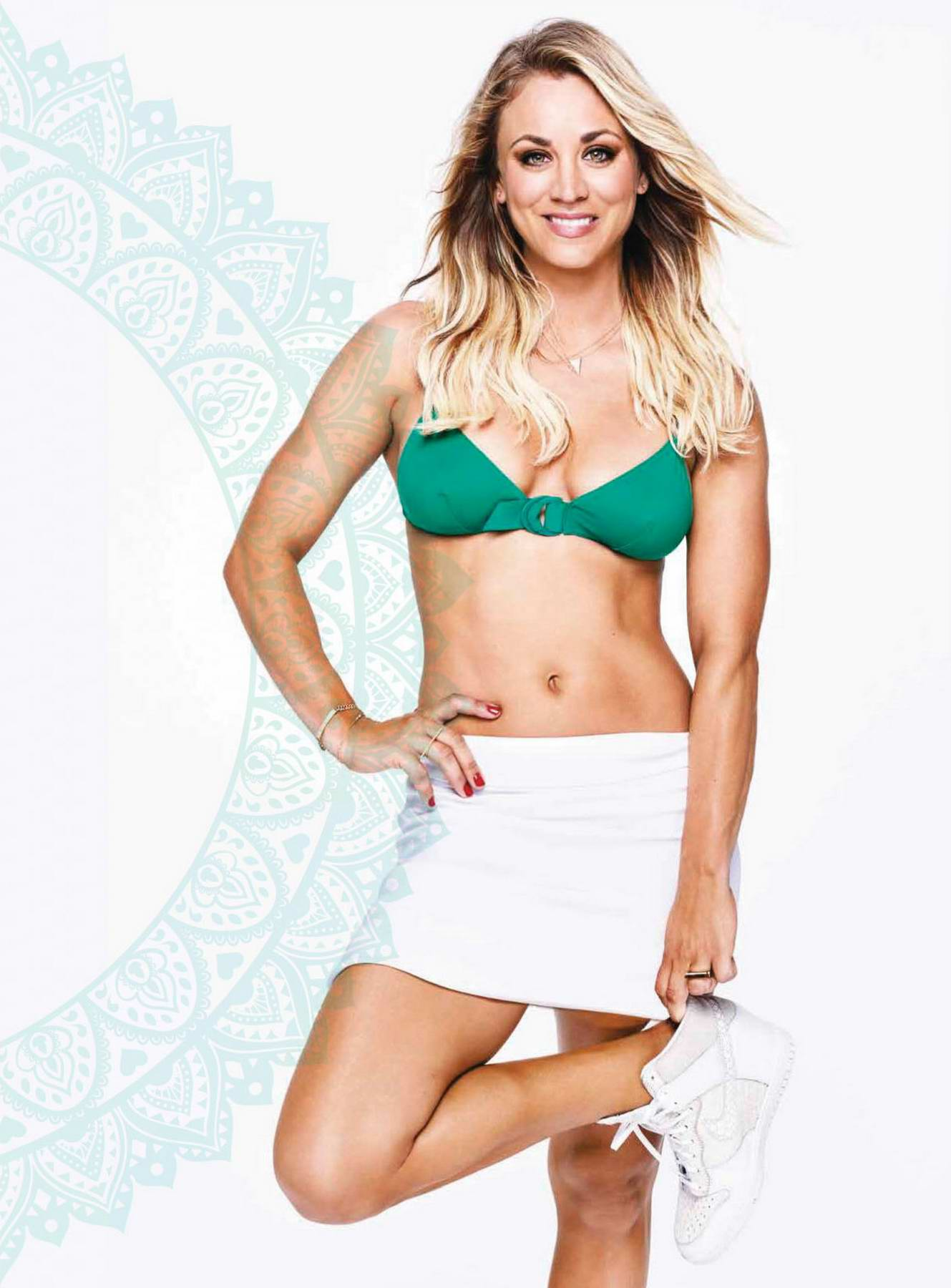 Kaley Cuoco features in Women's Health Magazine, Chile - February 2018