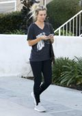 Kaley Cuoco spotted walking back to her car after leaving a office building in Los Angeles