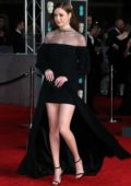Karen Gillan attends 71st British Academy Film Awards at Royal Albert Hall in London