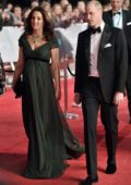 Kate Middleton and Prince William attends 71st British Academy Film Awards at Royal Albert Hall in London