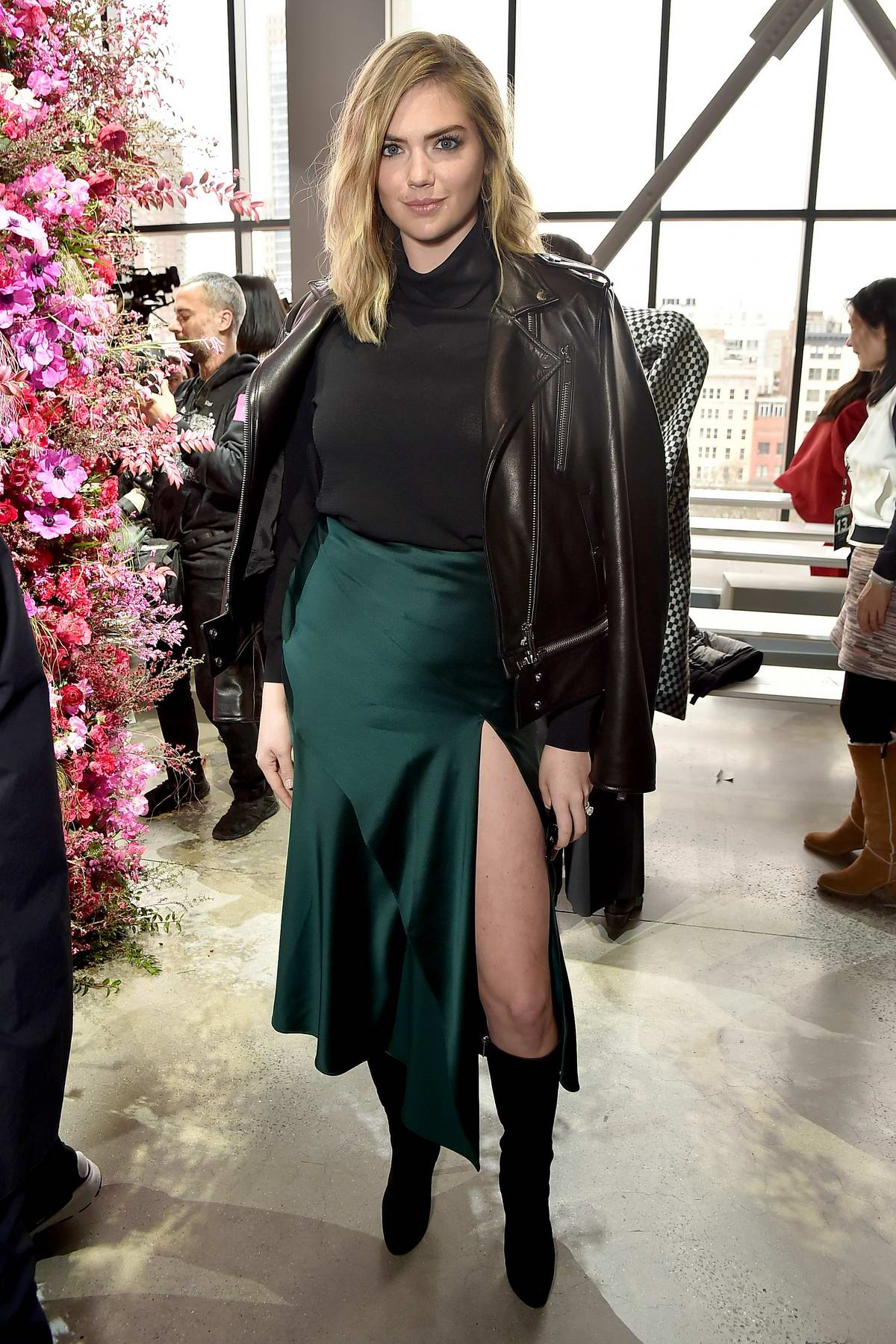 Kate Upton at Jason Wu Show during New York Fashion Week, Fall 2018 in New York City