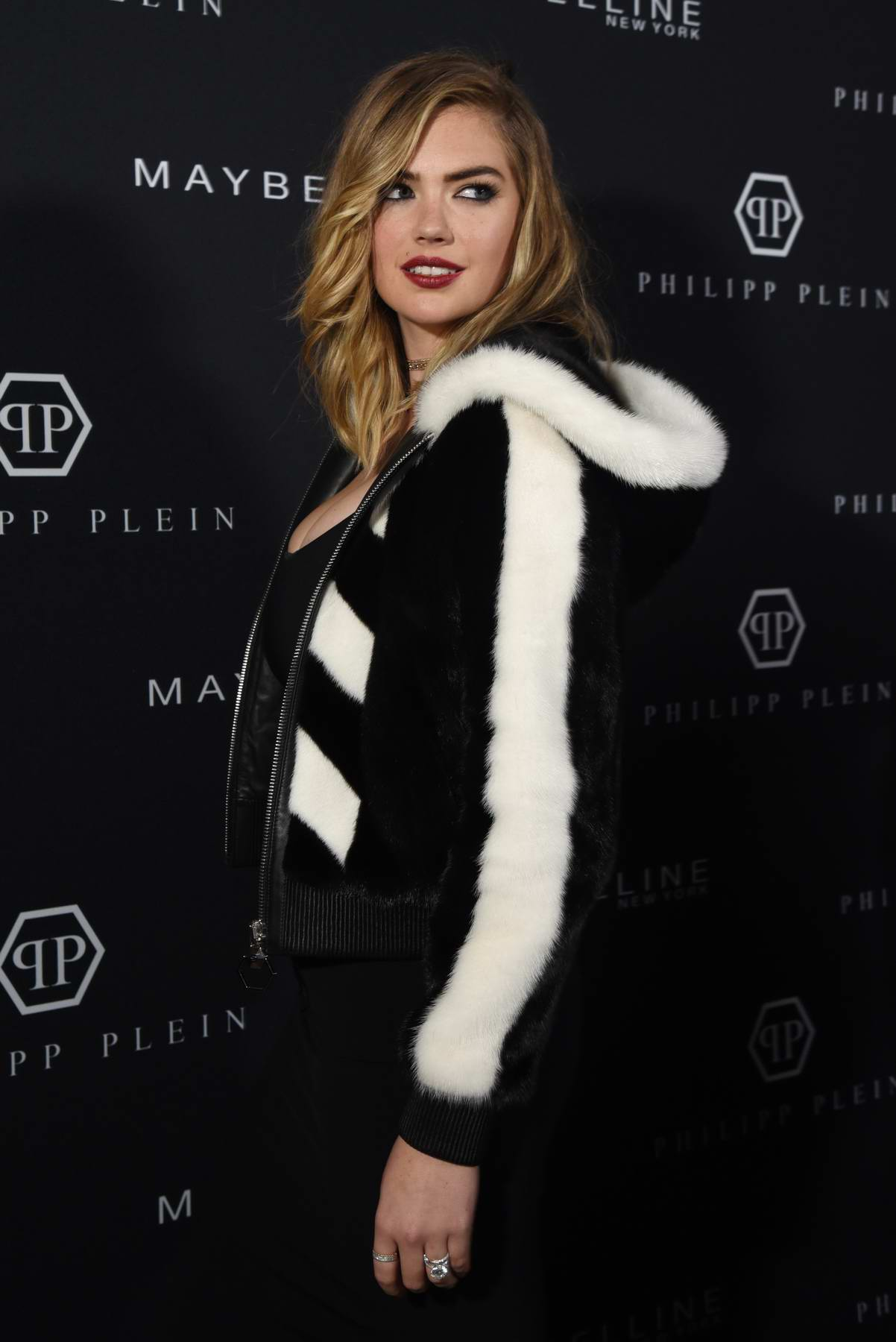 Kate Upton at Philipp Plein Show during New York Fashion Week in New York City
