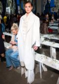 Kate Upton attends Jonathan Simkhai Show during New York Fashion Week in New York City