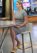 Kate Upton makes an appearance on 'Good Morning America' in New York City