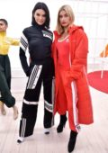 Kendall Jenner and Hailey Baldwin attends Adidas originals by Danielle Cathari Presentation, Fall Winter 2018 during New York Fashion Week in New York City