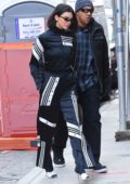 Kendall Jenner leaves the Mercer Hotel as she heads to an Adidas event in New York City