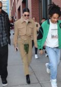 Kendall Jenner spotted out with Luka Sabbat during New York Fashion Week in Soho, New York City