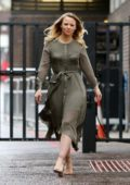 Kimberley Walsh spotted outside ITV Studios in London