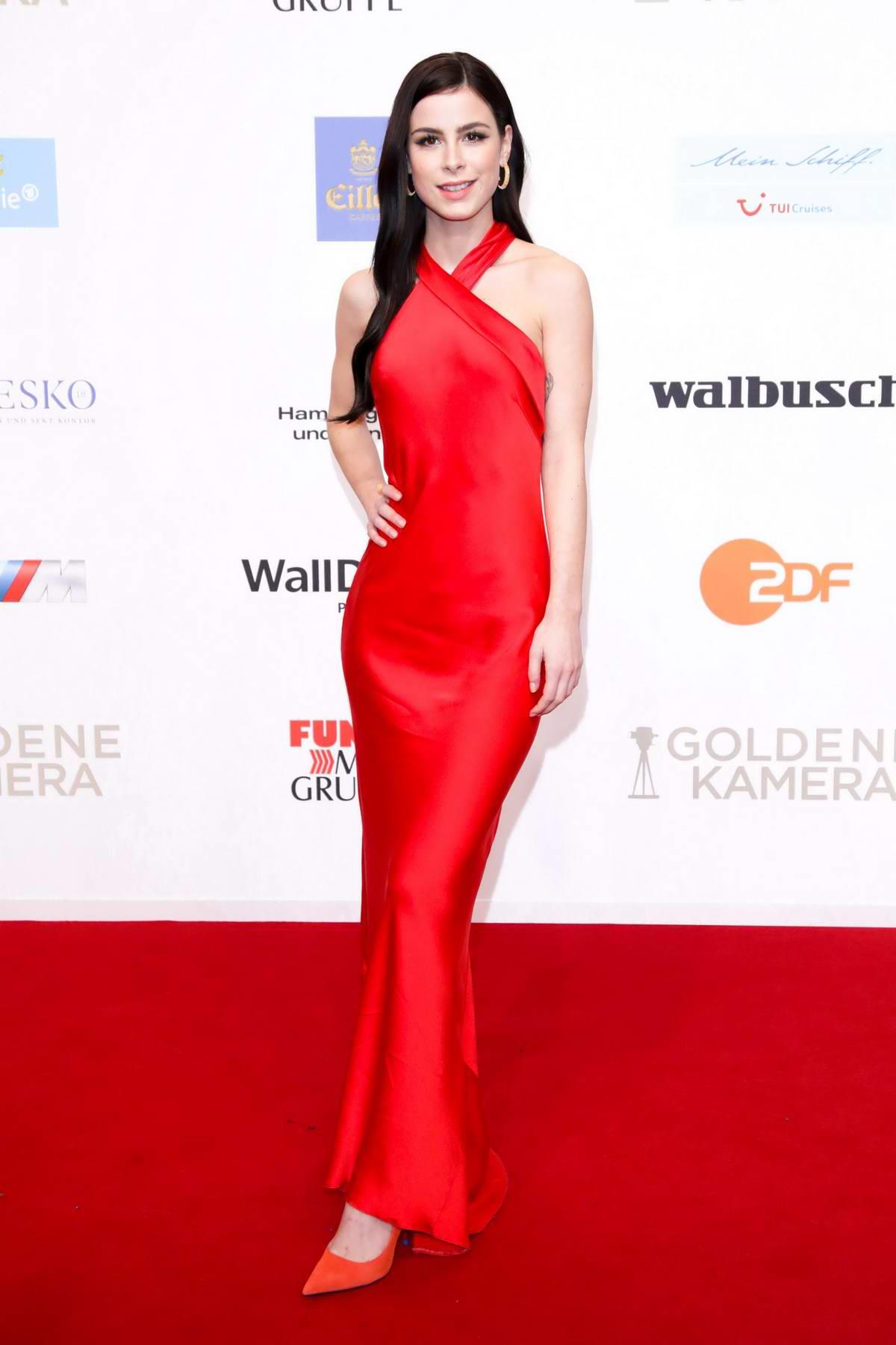 Lena Meyer-Landrut attends Goldene Kamera Awards in Hamburg, Germany