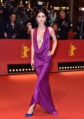 Lena Meyer-Landrut attends the '3 Days in Quiberon' premiere during the 68th Berlinale International Film Festival in Berlin, Germany