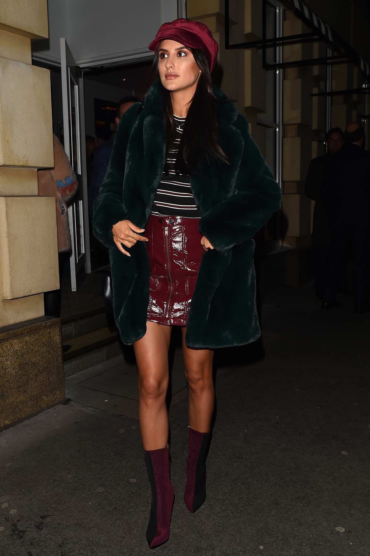 Lucy Watson at the launch party of 'By Chloe' restaurant in London