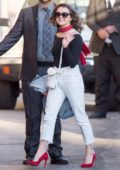 Maisie Williams arrives for her appearance on Jimmy Kimmel Live in Los Angeles