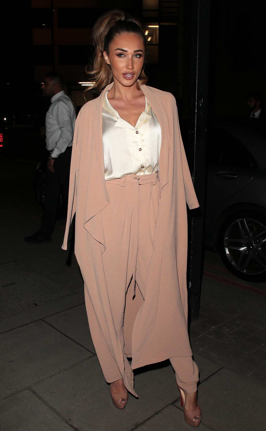 Megan McKenna at Fabulous Magazine 10th birthday party in London