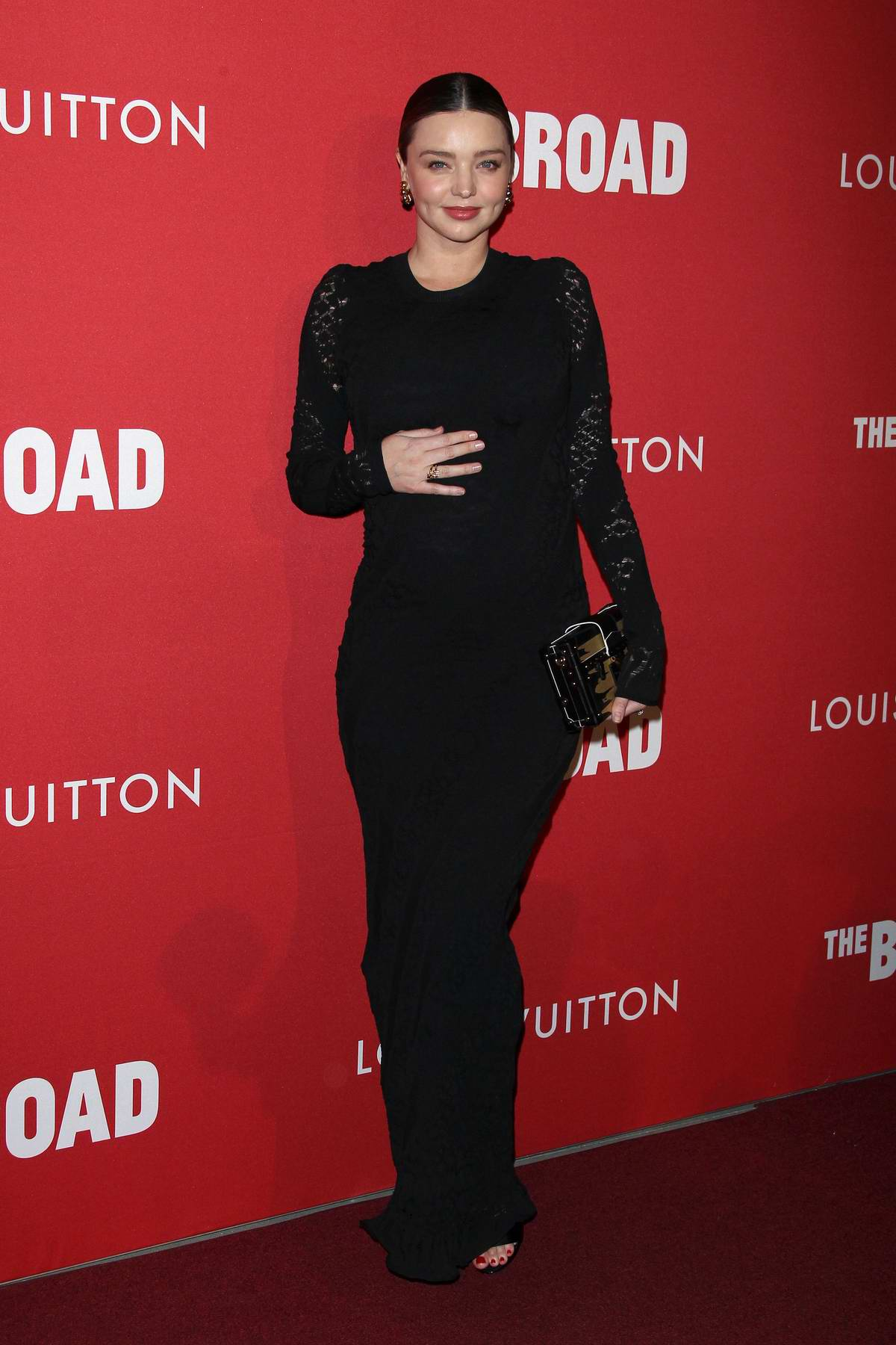 Miranda Kerr attends the Broad and Louis Vuitton Celebrate Jasper Johns 'Something Resembling Truth' in Los Angeles
