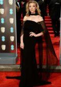 Natalie Dormer attends 71st British Academy Film Awards at Royal Albert Hall in London