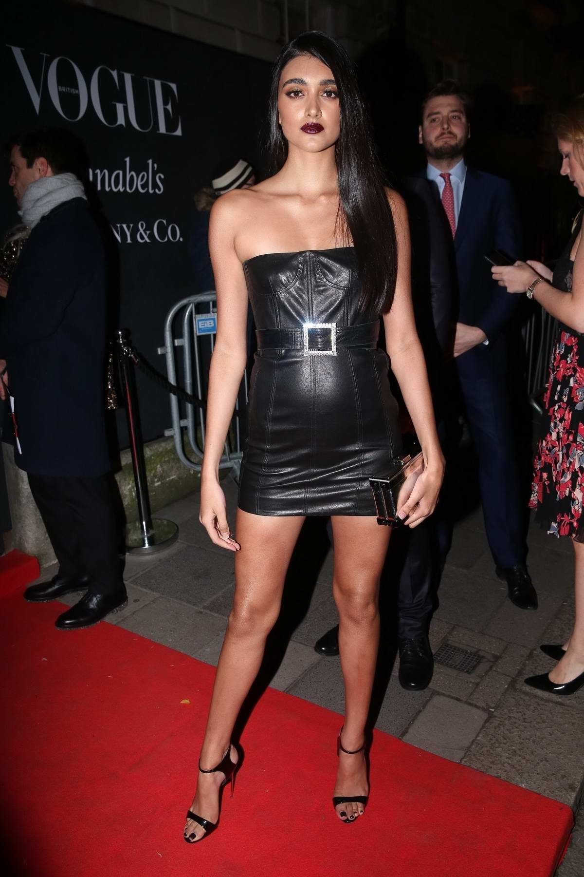 Neelam Gill attend the Vogue x Tiffany & Co BAFTA after-party, held at Annabel's Private Members Club in Mayfair, London