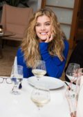 Nina Agdal attends Mr. Leight x BG dinner at Home Studios Inc in New York City