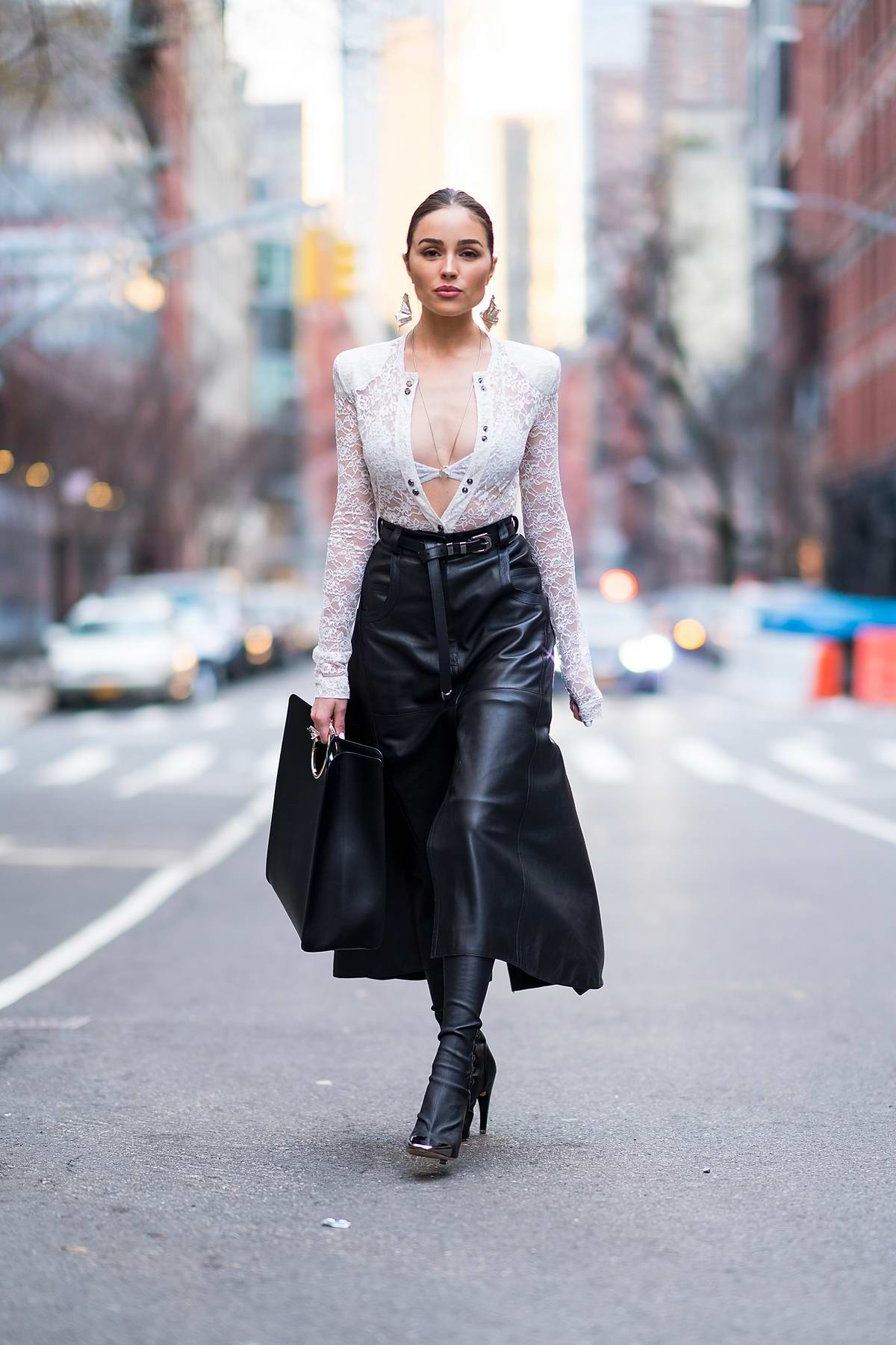 Olivia culpo is stylish soho in nyc - 2019 year