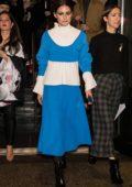 Olivia Palermo leaving Prabal Gurung Show during New York Fashion Week in New York City