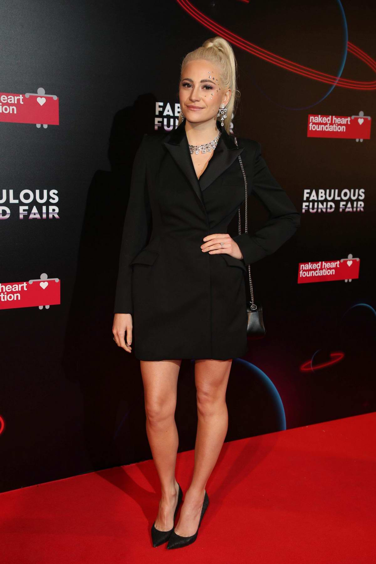 Pixie Lott at Fabulous Fund Fair during London Fashion Week at The Roundhouse in London