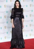 Rachel Weisz attends 71st British Academy Film Awards at Royal Albert Hall in London