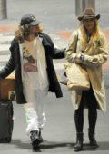 Rita Ora and boyfriend Andrew Watt arrives at Heathrow airport in London