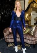 Rosie Huntington-Whiteley at Bergdorf Goodman event at Club 58 in New York City
