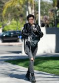 Ruby Rose spotted out and about after her back surgery in Santa Monica, California
