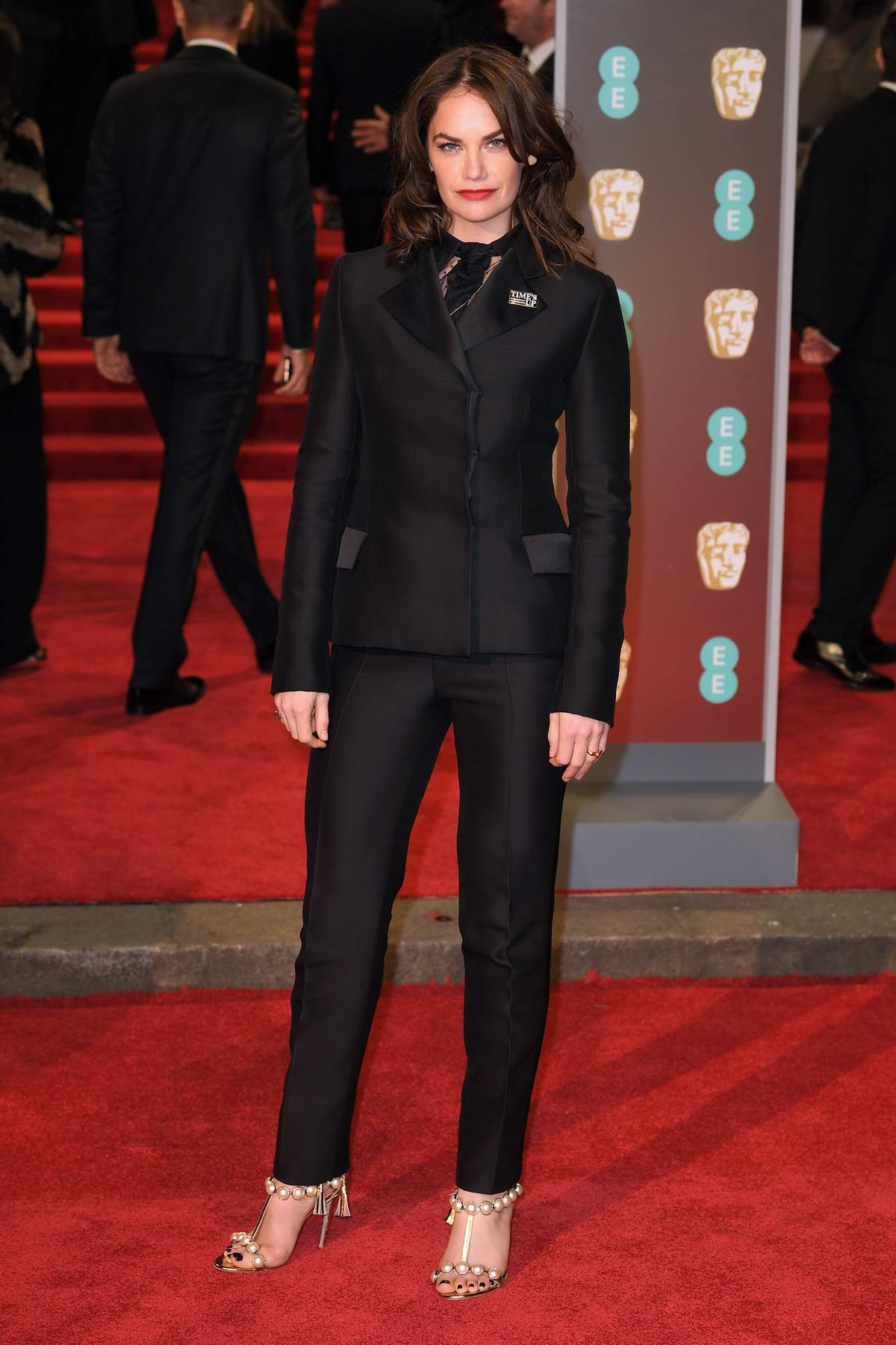 Ruth Wilson attends 71st British Academy Film Awards at Royal Albert Hall in London