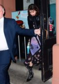 Selena Gomez buys some Valentine's Day chocolates at Mariebelle Gourmet Chocolate in New York City