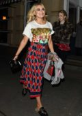 Tallia Storm at the launch party of 'By Chloe' restaurant in London