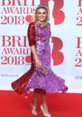 Tallia Storm attends the 38th Brit Awards, held at the O2 Arena in London