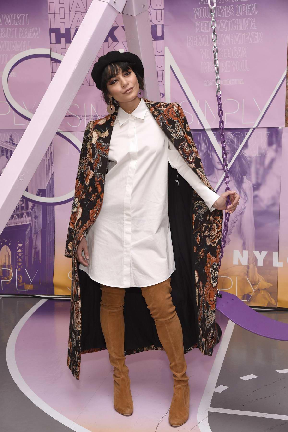 Vanessa Hudgens at SIMPLY NYC Conference VIP Dinner at Marta at The Redbury in New York