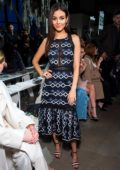 Victoria Justice at Jonathan Simkhai Show during New York Fashion Week in New York City