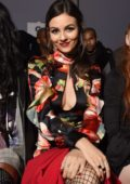 Victoria Justice at Philipp Plein Show during New York Fashion Week in New York City