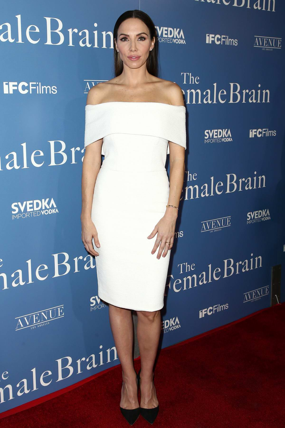 Whitney Cummings at 'The Female Brain' premiere held at Arclight Theatre in Hollywood, Los Angeles