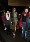 Winnie Harlow seen leaving Love and Miu Miu Women's Tales Party in London