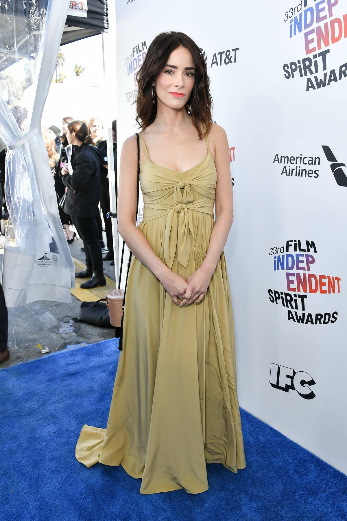 Abigail Spencer attends the 33rd Film Independent Spirit Awards in Los Angeles