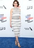 Alison Brie attends the 33rd Film Independent Spirit Awards in Los Angeles