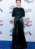 Allison Williams attends the 33rd Film Independent Spirit Awards in Los Angeles