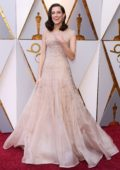 Allison Williams attends The 90th Annual Academy Awards (Oscars 2018) held at Dolby Theatre in Hollywood, Los Angeles